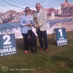 Papà Nur BOG2 a Umago 2018